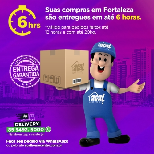 Acal Home-Center agora com delivery